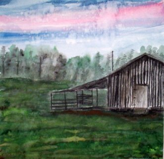 barn paintings
