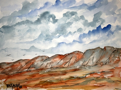 Landscape Painting Watercolor