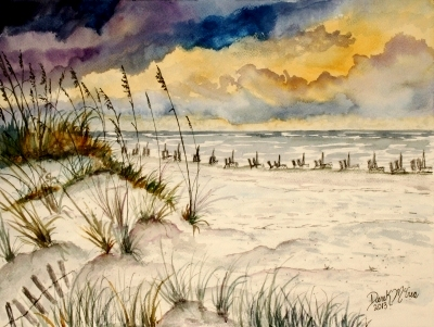Destin beach painting