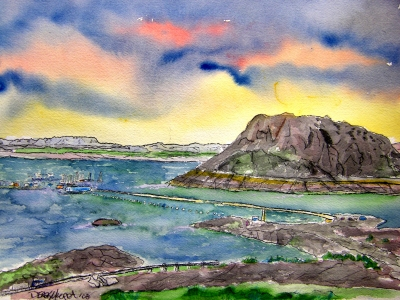 elephant butte nm southwestern art painting