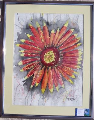 Framed  on Framed Art Original Paintings And Prints