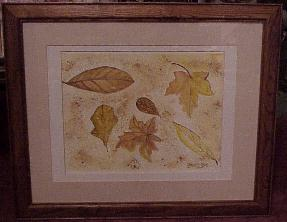 framed still life art
