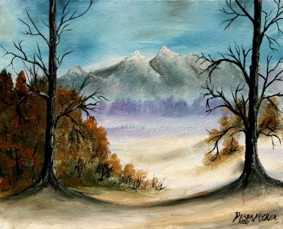 landscape oil paintings
