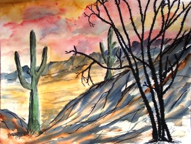 southwestern art painting