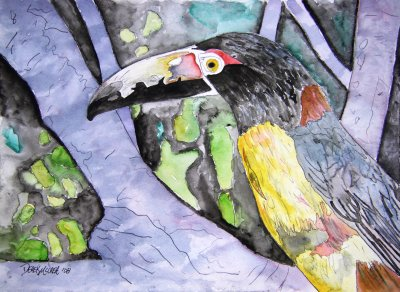 toucan bird painting